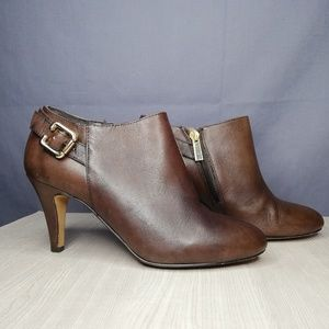 """Vince Camuto heeled leather """"Val"""" booties"""